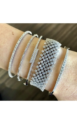 Stacked Diamond Bracelets product image