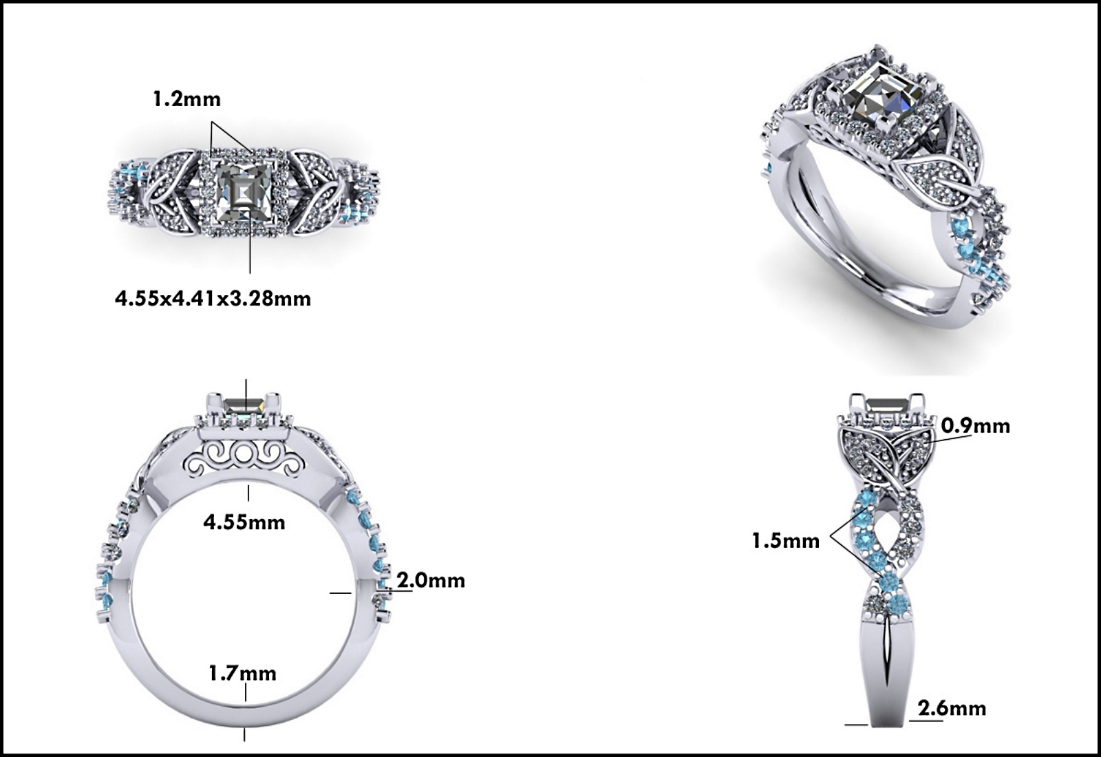 Custom Jewelry Design - Mitchum Jewelers - Image 3