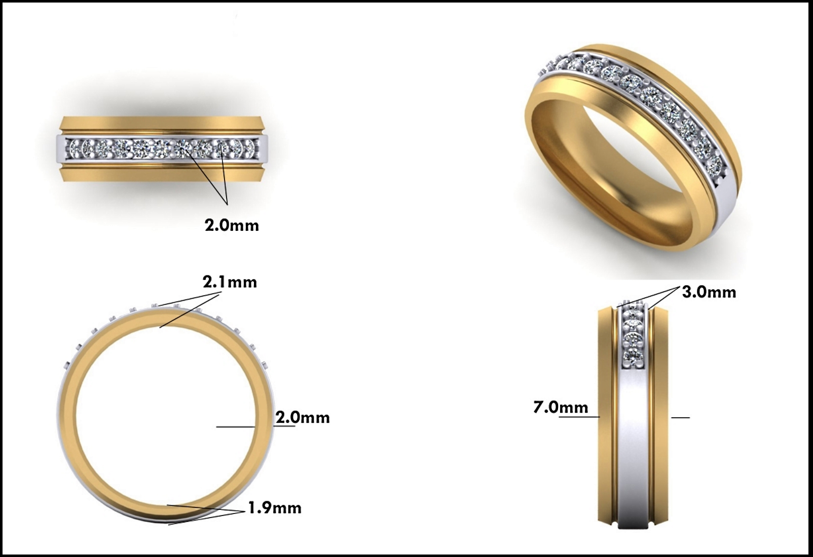 Custom Jewelry Design - Mitchum Jewelers - Image 5