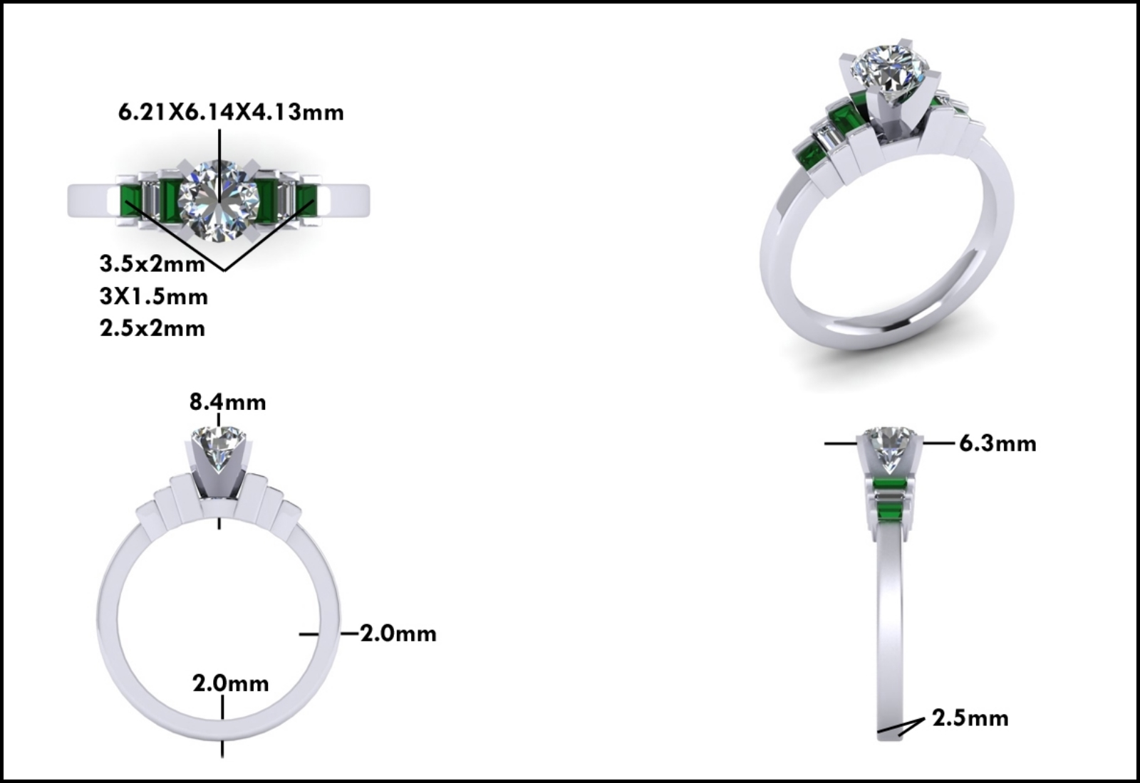 Custom Jewelry Design - Mitchum Jewelers - Image 6