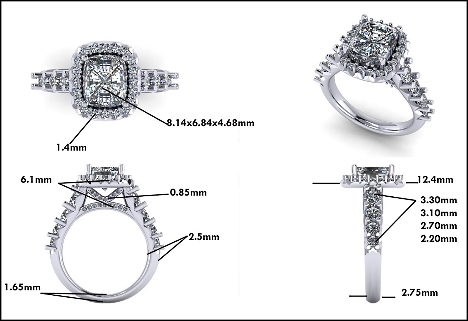 Custom Jewelry Design - Mitchum Jewelers - Image 11
