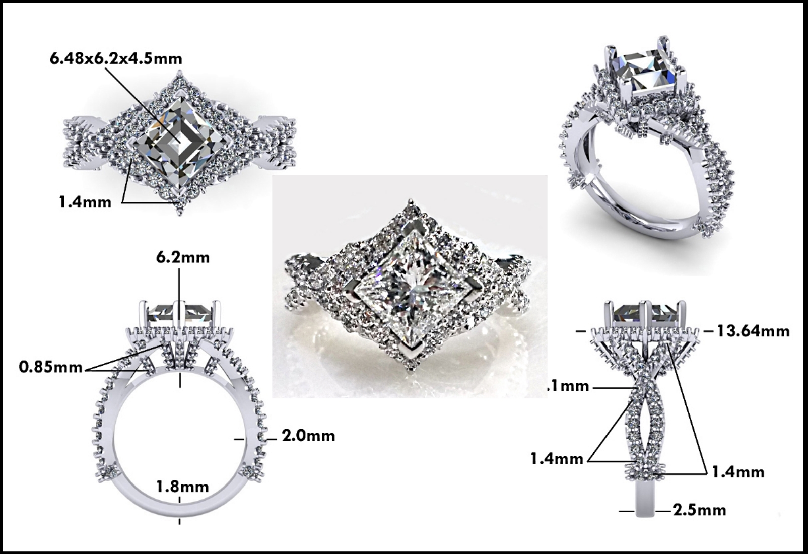 Custom Jewelry Design - Mitchum Jewelers - Image 12