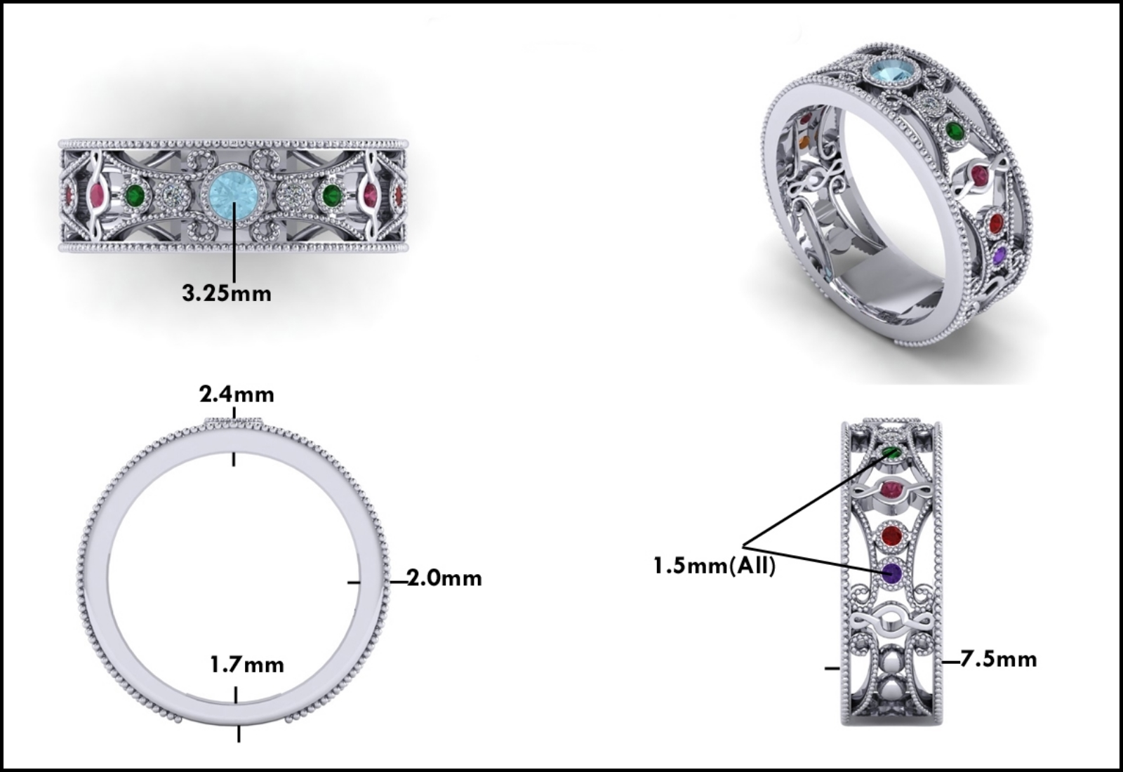 Custom Jewelry Design - Mitchum Jewelers - Image 13