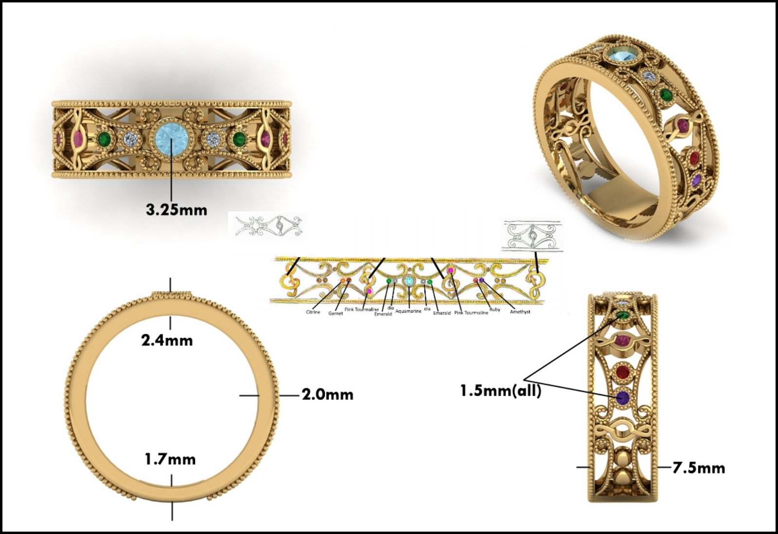 Custom Jewelry Design - Mitchum Jewelers - Image 14