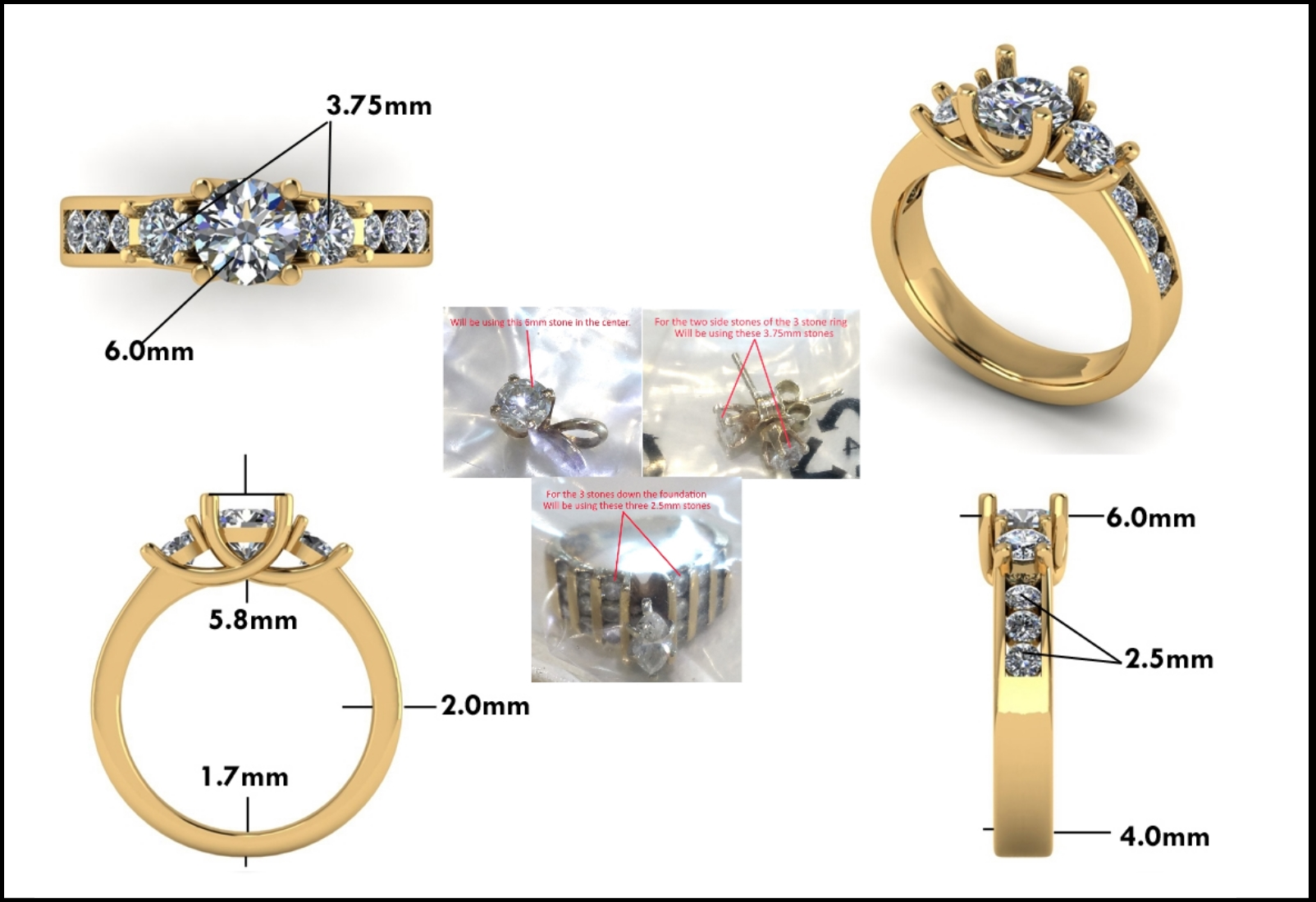 Custom Jewelry Design - Mitchum Jewelers - Image 15