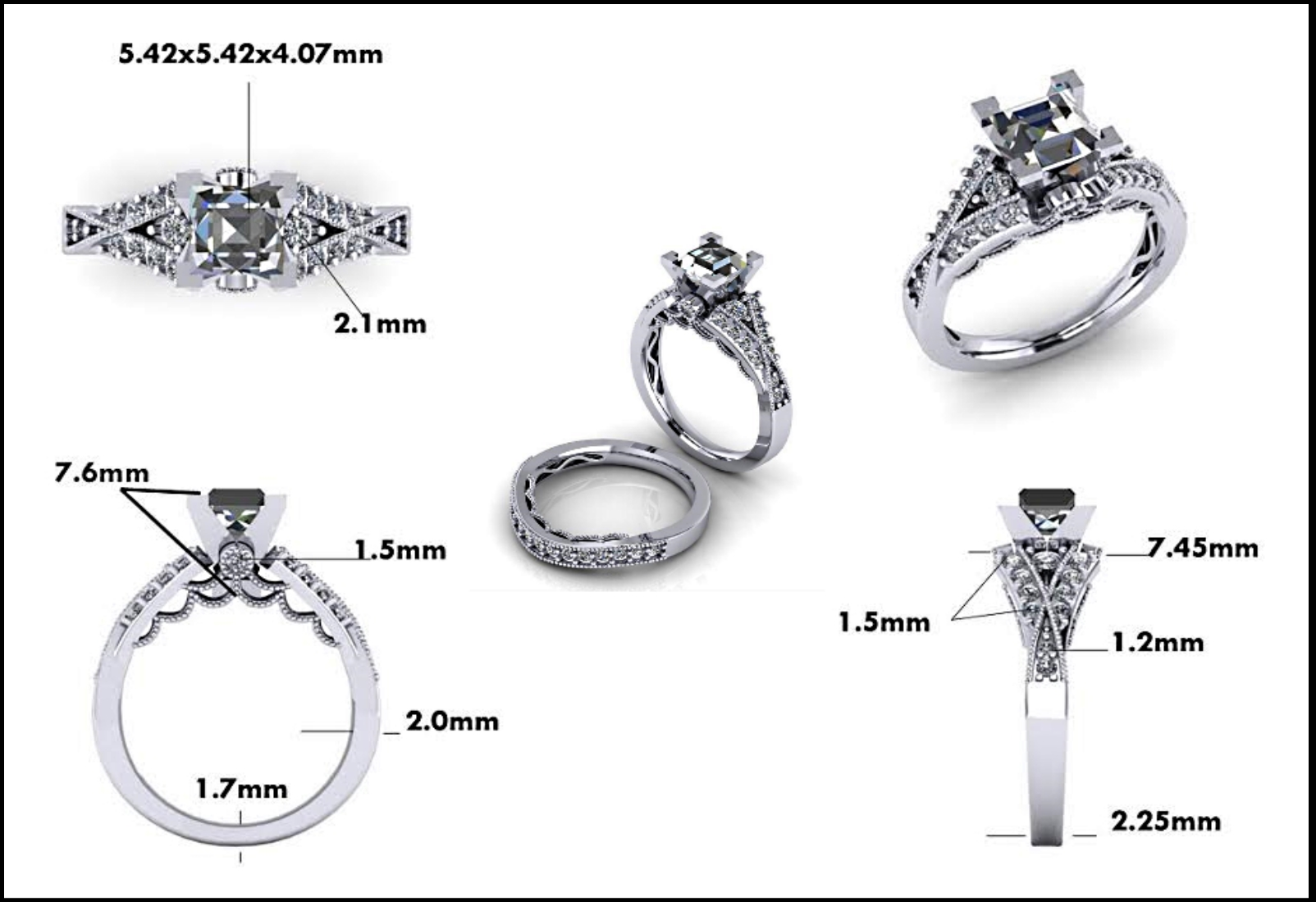Custom Jewelry Design - Mitchum Jewelers - Image 23