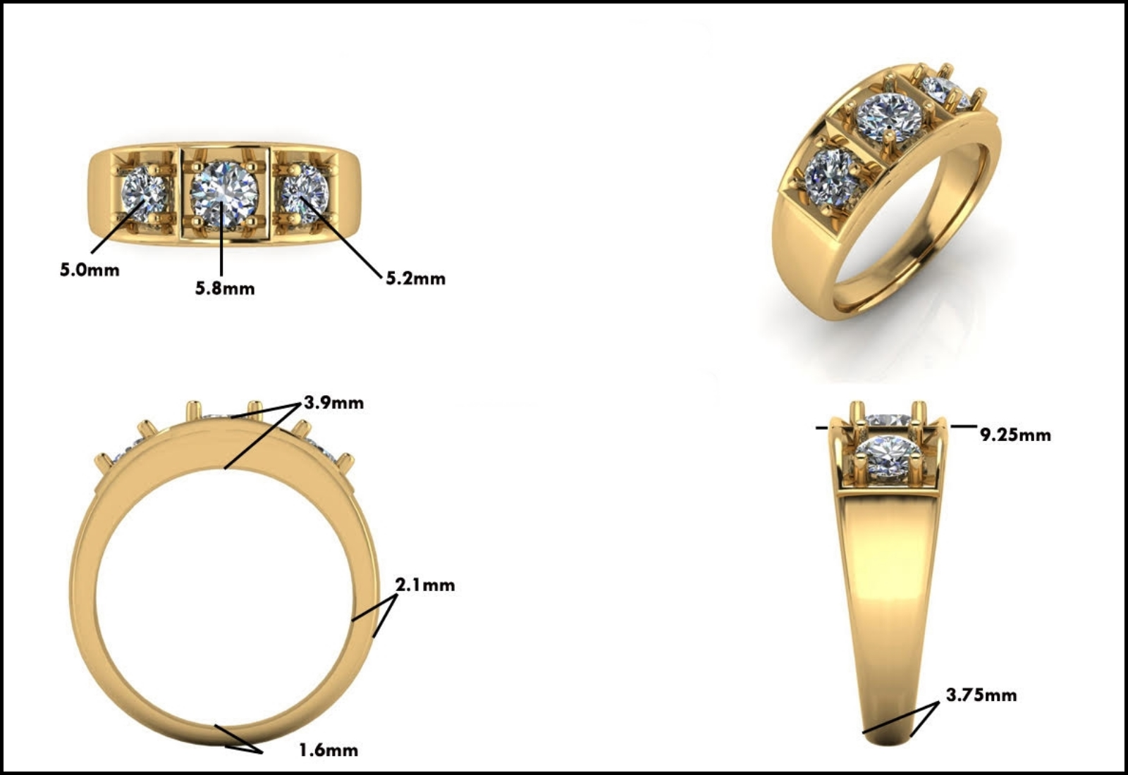 Custom Jewelry Design - Mitchum Jewelers - Image 22