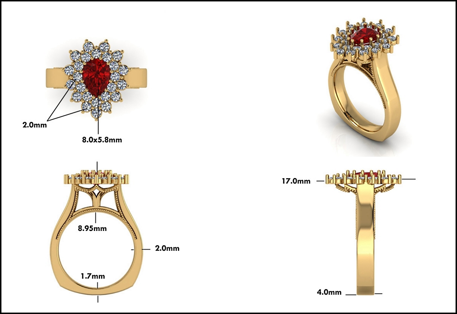Custom Jewelry Design - Mitchum Jewelers - Image 25