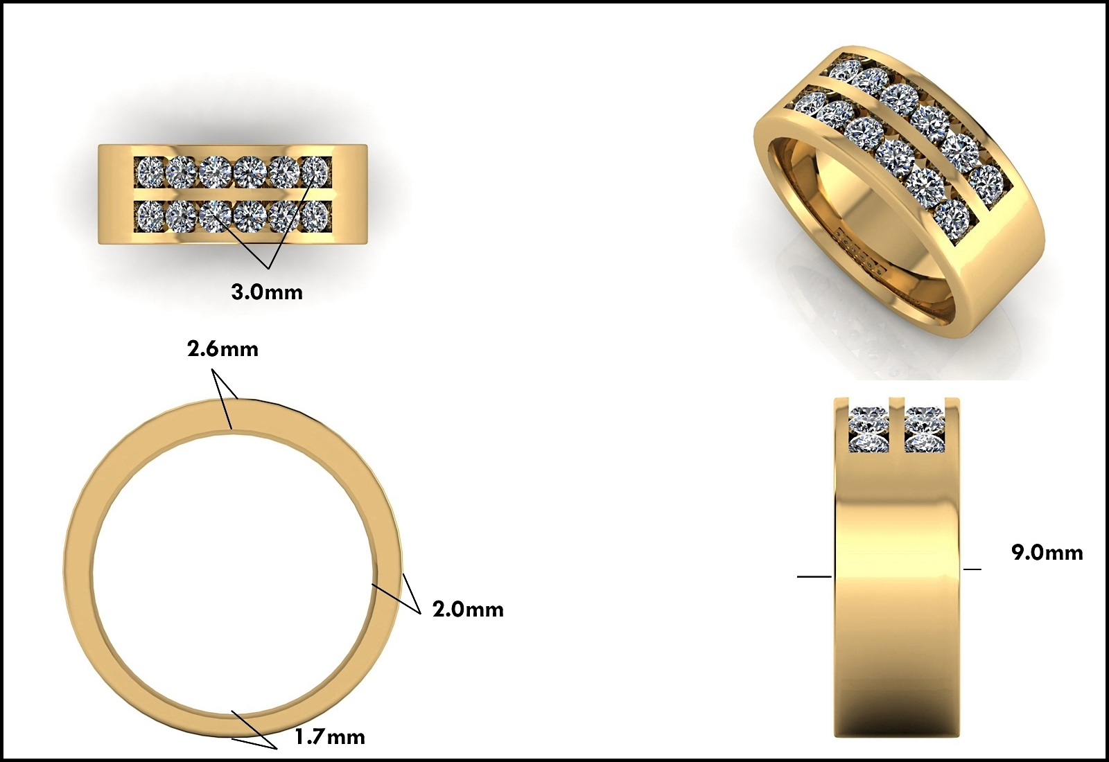 Custom Jewelry Design - Mitchum Jewelers - Image 26