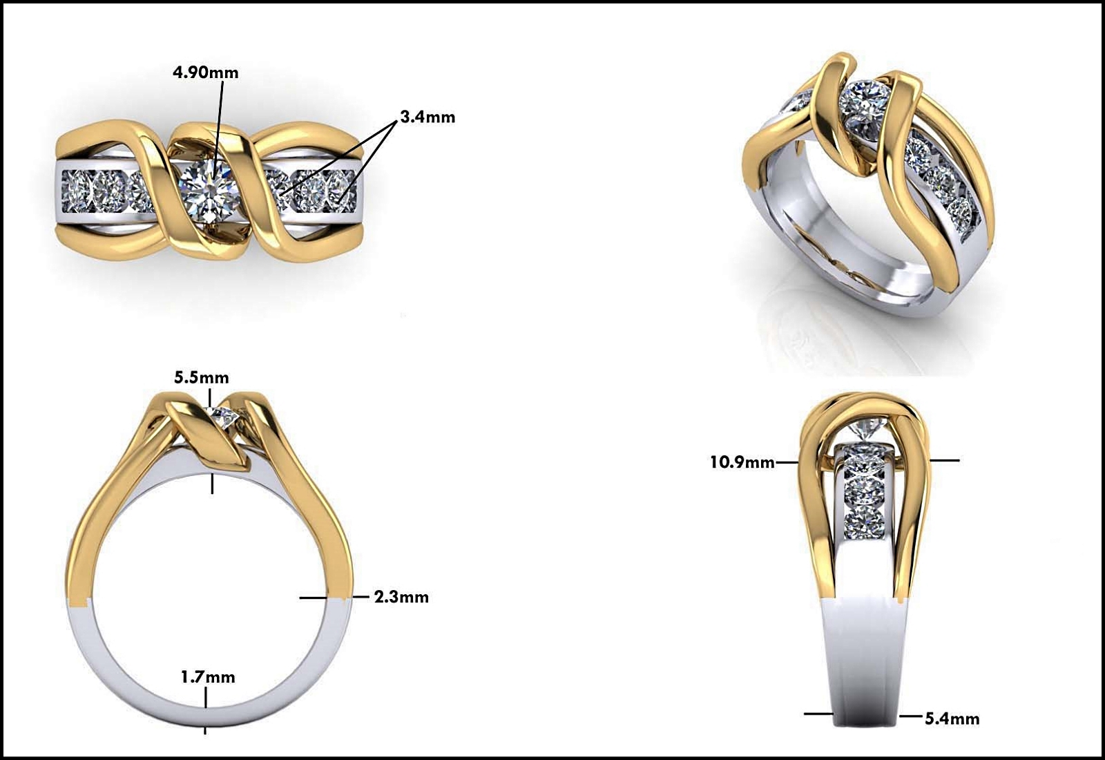 Custom Jewelry Design - Mitchum Jewelers - Image 32